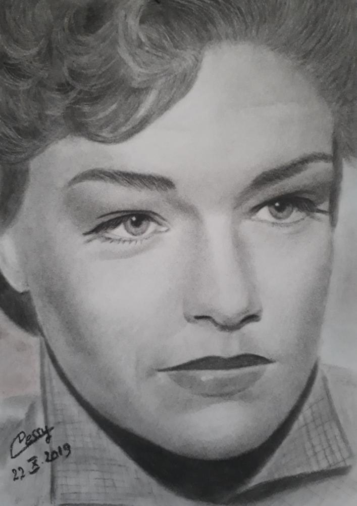 Simone Signoret by Cessydu31